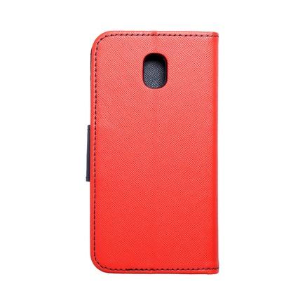 Pouzdro Fancy Book Samsung Galaxy J3 2017 červené/tmavě modré