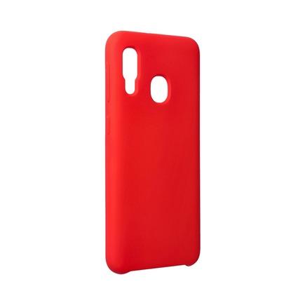 Pouzdro Silicone Samsung Galaxy A20E červené