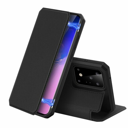 Skin X pouzdro s klapkou Samsung Galaxy S20 Ultra černé