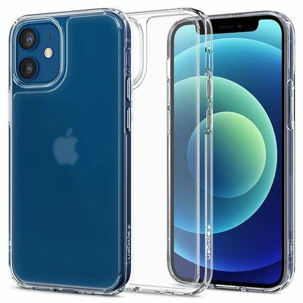 Spigen Pouzdro Quartz Hybrid iPhone 12 / 12 Pro Matte průsvitné