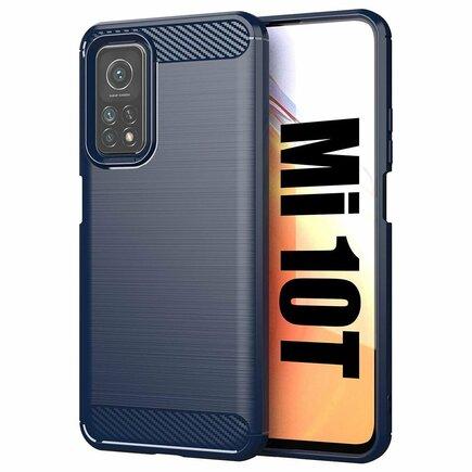 Carbon Case elastické pouzdro Xiaomi Mi 10 Pro / Xiaomi Mi 10 modré