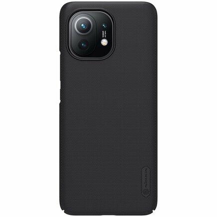 Nillkin Super Frosted Shield zesílené pouzdro + podstavec Xiaomi Mi 11 černé