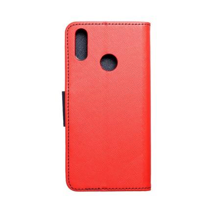 Pouzdro Fancy Book Huawei Y7 2019 červené/tmavě modré