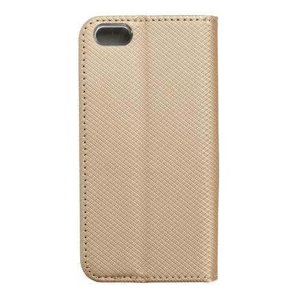 Pouzdro Smart Case book iPhone 5 / 5S / SE zlaté