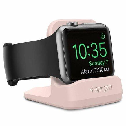 S350 Dokovací stanice Night Stand Apple Watch 1/2/3/4 růžová