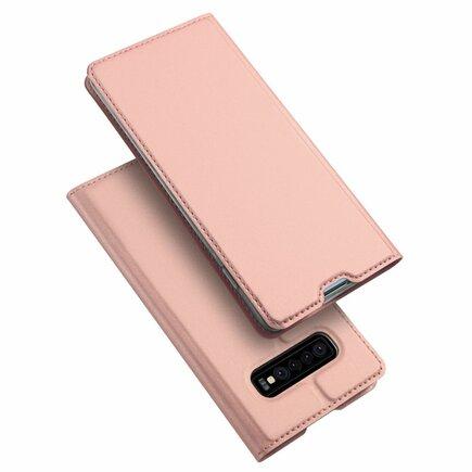 Skin Pro pouzdro s klapkou Samsung Galaxy S10 růžové