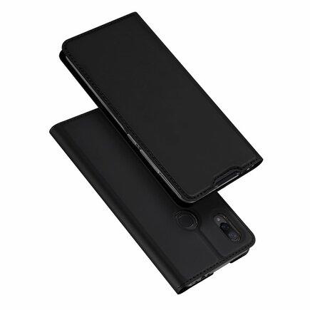 Skin Pro pouzdro s klapkou Xiaomi Redmi Note 7 černé