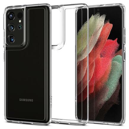 Spigen Pouzdro Ultra Hybrid Galaxy S21 Ultra průsvitné