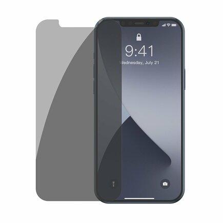 2x tvrzené sklo 0;3 mm Anti Spy iPhone 12 Pro Max průsvitné (SGAPIPH67N-LK02)