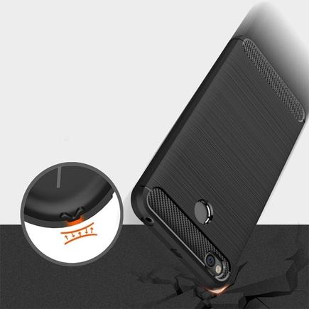 Carbon Case elastické pouzdro iPhone 6S Plus / 6 Plus modré
