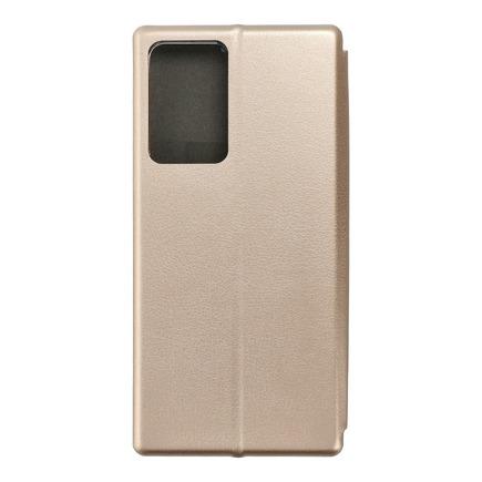 Pouzdro Book Elegance Samsung Galaxy Note 20 Plus zlaté