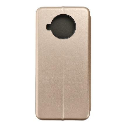 Pouzdro Book Forcell Elegance Xiaomi Mi 10T Lite 5G zlaté