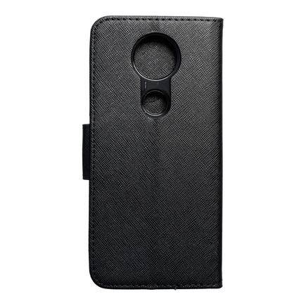 Pouzdro Fancy Book Lenovo Moto E5 Plus černé