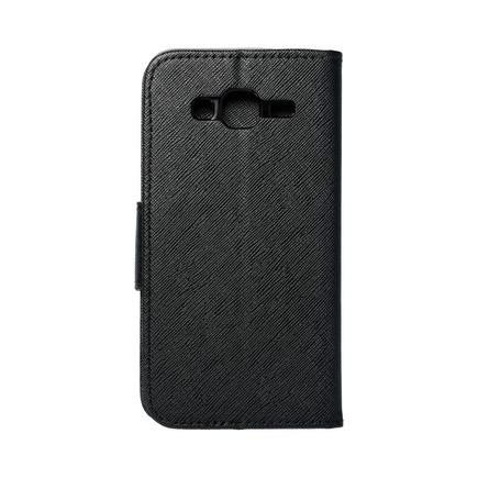 Pouzdro Fancy Book Samsung Galaxy J3/J3 2016 černé
