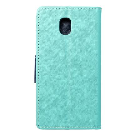 Pouzdro Fancy Book Samsung Galaxy J5 2017 mátově zelené/tmavě modré