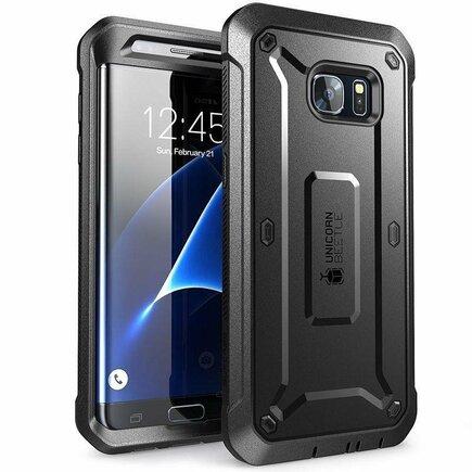 Pouzdro Unicorn Beetle Pro Galaxy S7 Edge černé