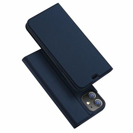 Skin Pro pouzdro s klapkou iPhone 12 mini modré