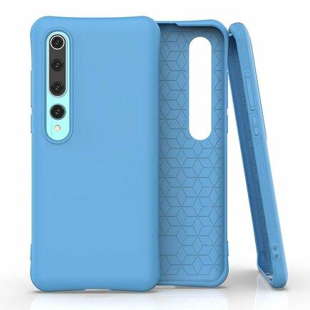 Soft Color Case elastické gelové pouzdro Xiaomi Mi 10 Pro / Xiaomi Mi 10 modré