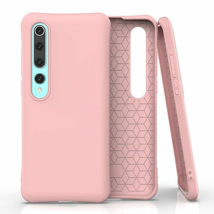 Soft Color Case elastické gelové pouzdro Xiaomi Mi 10 Pro / Xiaomi Mi 10 růžové