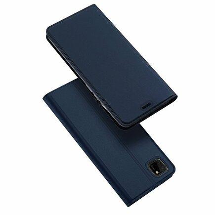 DUX DUCIS Skin Pro pouzdro s klapkou Huawei Y5p modré
