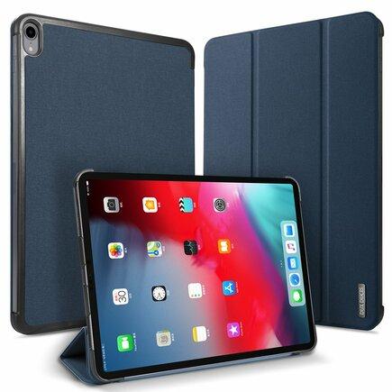 Domo skládané pouzdro na tablet s funkcí Smart Sleep podstavec Apple iPad Pro 11 2018 modré
