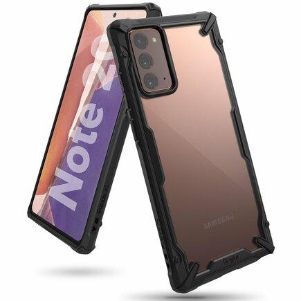 Fusion X pancéřové pouzdro s rámem Samsung Galaxy Note 20 černé (FUSG0061)