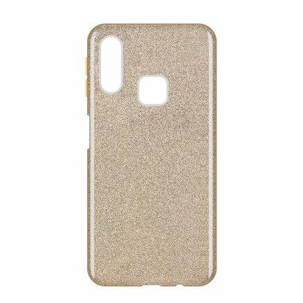 Glitter Case lesklé pouzdro s brokátem Samsung Galaxy A40 zlaté