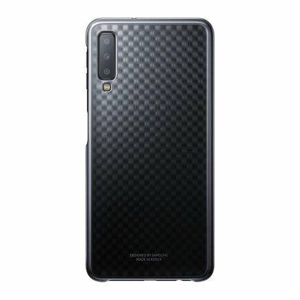 Gradation Cover pevné pouzdro s gradientem Samsung Galaxy A7 2018 A750 černé (EF-AA750CBEGWW)
