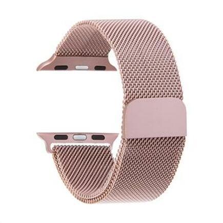 Loop Magnetický Kovový Pásek růžově-zlatý pro iWatch 4 40mm (EU Blister)
