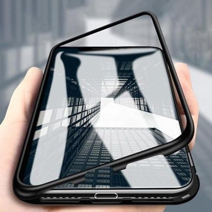 Magnetic Case 360 na přední i zadní část telefonu Huawei P20 PRO / PLUS průsvitné