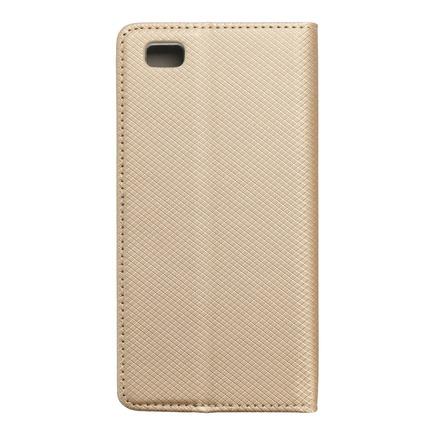 Pouzdro Smart Case book Huawei P8 Lite zlaté