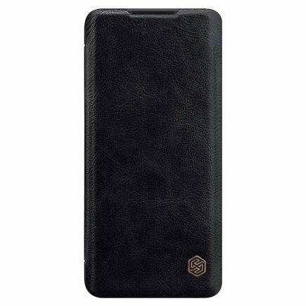Qin Book Pouzdro pro Xiaomi Note 10 Lite černé
