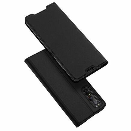 Skin Pro pouzdro s klapkou Sony Xperia 1 II černé