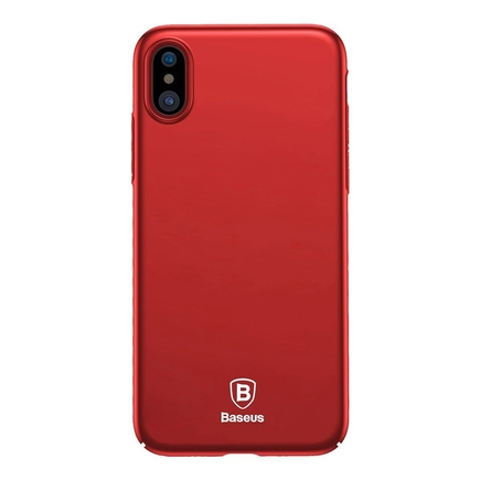 Thin Case ultra tenké pouzdro na iPhone X červené