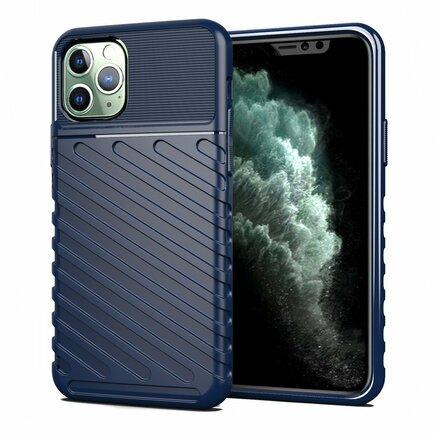Thunder Case elastické pancéřové pouzdro iPhone 11 Pro modré