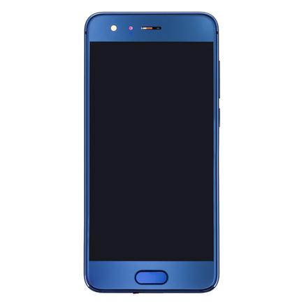 9 LCD Display + Dotyková Deska + Přední Kryt modrý