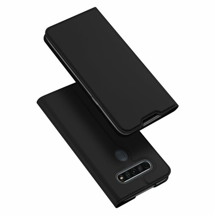 DUX DUCIS Skin Pro pouzdro s klapkou LG K61 černé