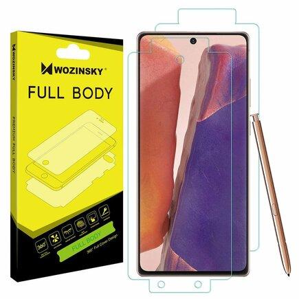 Full Body samo regenerační ochranná fólie na celý telefon Samsung Galaxy Note 20