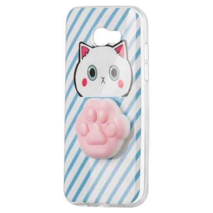 Gelové pouzdro Squishy animal gumová hračka 4D chumlánek Samsung Galaxy A5 2017 A520 ťapka