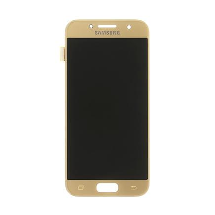 LCD display + Dotyk Samsung A320 Galaxy A3 2017 zlatý (Service Pack)