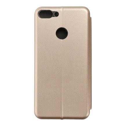 Pouzdro Book Elegance Huawei P Smart zlaté