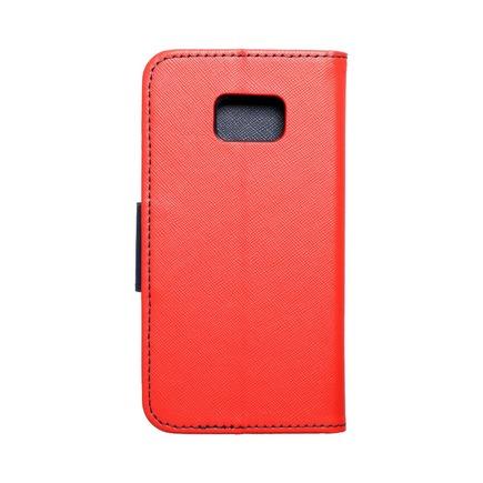 Pouzdro Fancy Book Samsung Galaxy S7 (G930) červené/tmavě modré