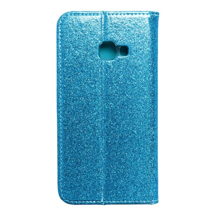 Pouzdro Forcell Shining Book Samsung Xcover 4 modré