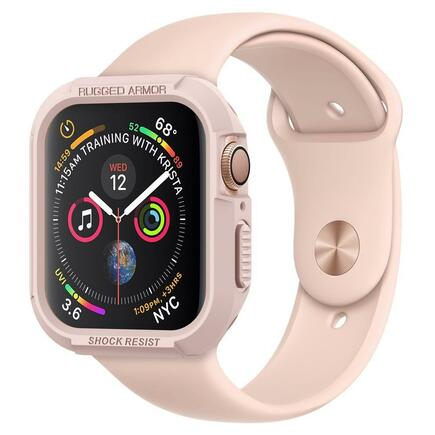 Pouzdro Rugged Armor Apple Watch 4/5 (40MM) růžově-zlaté