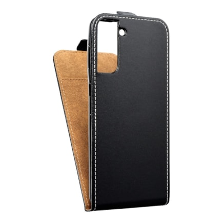 Pouzdro Slim Flexi Fresh svislé Samsung Galaxy S21 Plus černé
