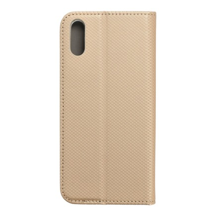 Pouzdro Smart Case book Sony Xperia L3 zlaté