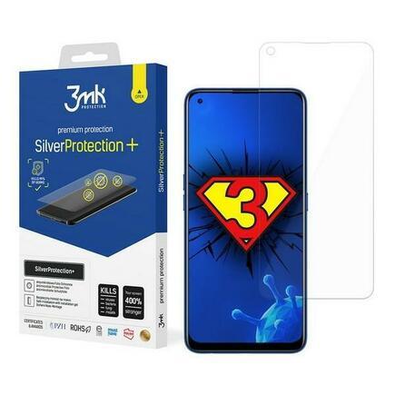 Silver Protect+ Realme 7 anti mikrobní fólie s montáží na mokro