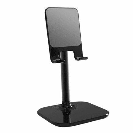 Teleskopický úchyt / stojan na tablet B026 černý
