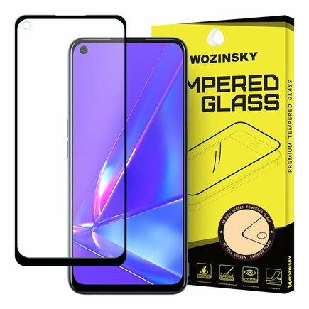 Wozinsky super odolné tvrzené sklo Full Glue na celý displej s rámem Case Friendly Oppo A72 / A52 černé