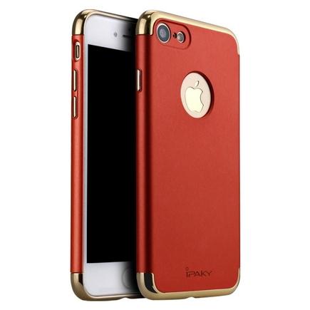 3 in 1 elegantní 3-dílné pouzdro iPhone 7 červené